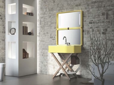 Sistema lavabo richiudibile MY BAG | Lavabo