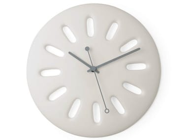 Wall-mounted polyurethane gel clock INTEMPO