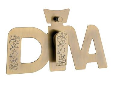Single handle shower mixer with diverter DIVA DEKORA | Shower mixer with diverter