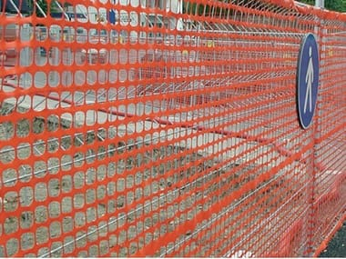 Construction site temporary and mobile fencing AREA CANTIERE