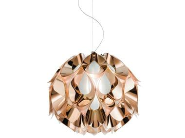 Indirect light Copperflex pendant lamp FLORA MEDIUM COPPER