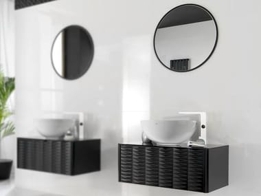 Meuble sous-vasque simple suspendu LOUNGE | Meuble sous-vasque