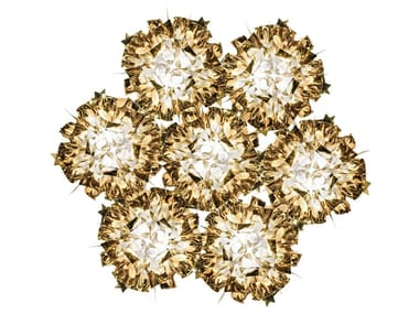 Lampada da soffitto in Goldflex® VELI 7 GOLD