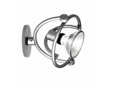 Wall-mounted adjustable spotlight FARIUNO PARETE