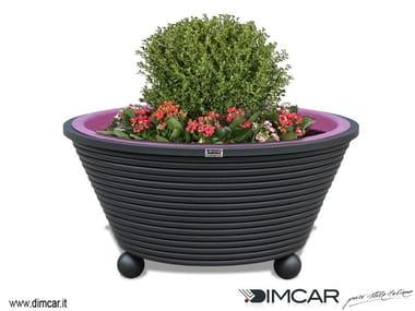 Metal Flower pot Fioriera Ermes