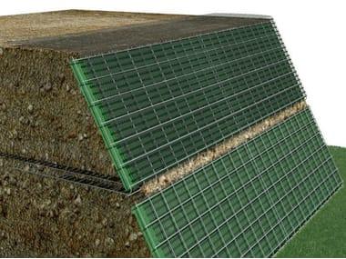 High resistance plastic vertical gardening trellis SISTEMA MUR