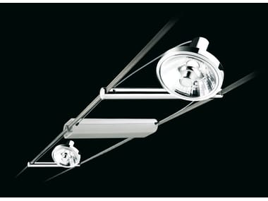 Ceiling adjustable spotlight TENSOSPOT IODURI