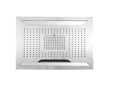 LED steel rain shower AQUA SENSE | LED overhead shower