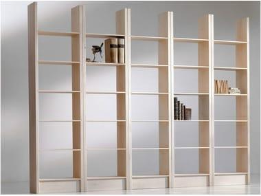 Open maple bookcase GOTTINGA