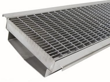Drainage channel and part M150 inox
