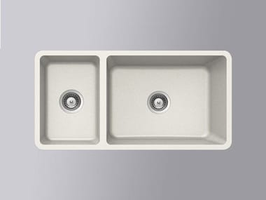 Built-in HI-MACS® sink CS824D | HI-MACS® sink