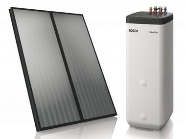 Solar heating system ROTEX SOLARIS