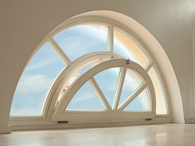 Wooden bottom-hung window LEGNO ARTE | Bottom-hung window
