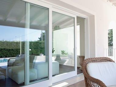 Wooden sliding window LEGNO DESIGN | Sliding window