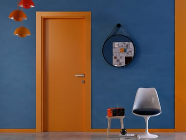 Hinged lacquered door PIANIA 1L