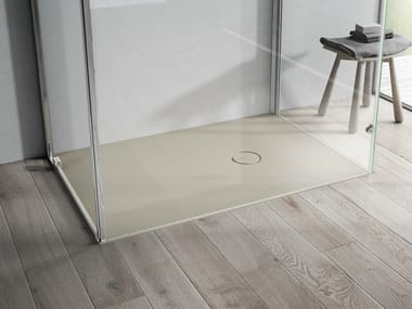 Flush fitting rectangular Aquatek shower tray ONDA | Shower tray