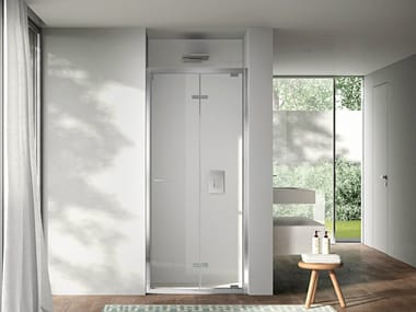 Niche shower cabin with folding door LIKE 05