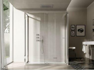 Shower cabin with folding door LIKE 16