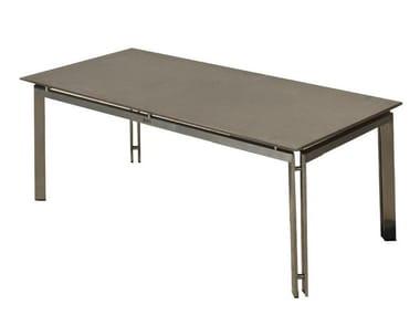 Rectangular garden side table ARDAL | Garden side table