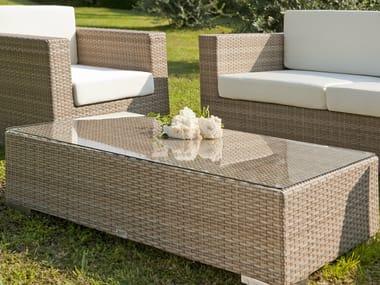 Rectangular garden side table RODI | Garden side table