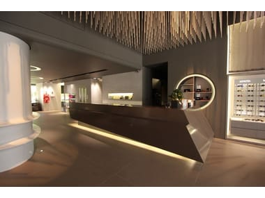 HI-MACS® Shop furnishing HI-MACS® - Shops & Exhibitions