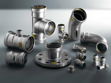 Tubi e raccordi a pressione in acciaio inox SANPRESS INOX G