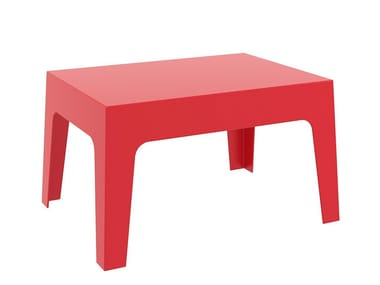 Stackable garden side table BOX | Coffee table