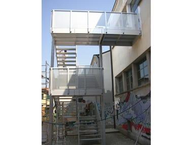 Metal Fire Escape Staircase Fire Escape Staircase