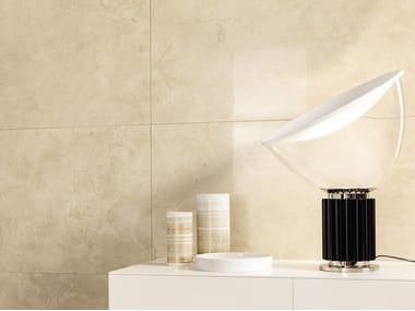 Porcelain stoneware wall/floor tiles with marble effect ANIMA MARFIL