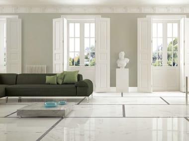 Porcelain stoneware wall/floor tiles with marble effect ANIMA STATUARIO VENATO