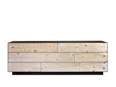 Multi-layer wood chest of drawers CP LAB DESIGN | Chest of drawers