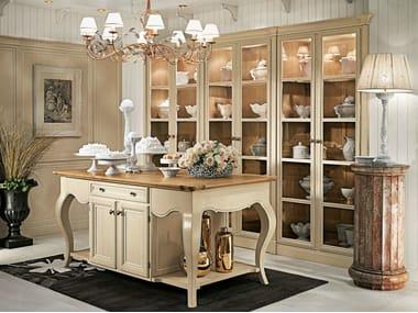 Wooden display cabinet CALENDARIO MONTEREY