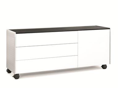Office drawer unit with castors AL | Office drawer unit