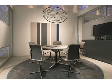 Round meeting table FILO 4-STAR TABLE | Round meeting table