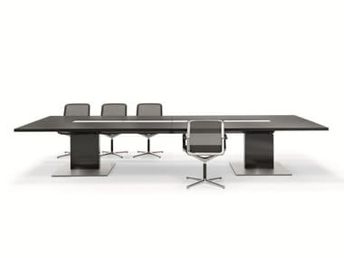 Rectangular meeting table P2 CONFERENCE