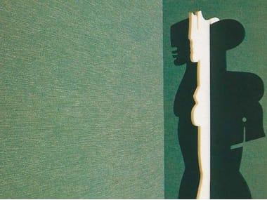 Sound absorbing synthetic fibre wallpaper WALLDESIGN® RAY