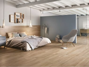 Porcelain stoneware flooring WOODPLACE