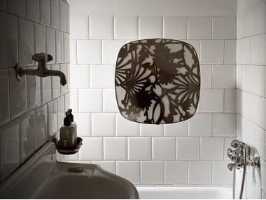 Electric wall-mounted towel warmer I GIOIELLI SQUARE