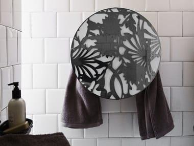 Electric wall-mounted towel warmer I GIOIELLI ROUND