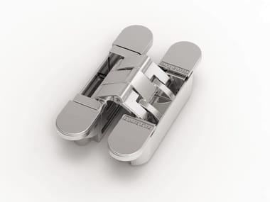 Concealed metal door hinge ARGENTA® INVISIBLE NEO