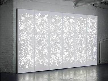 Solid Surface wall tiles / room divider LIGHT WALL