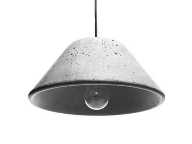 Lámpara colgante de hormigón MONS 280