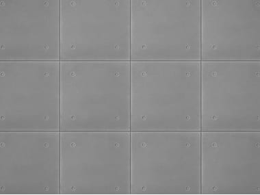Concrete wall tiles METAL FORM
