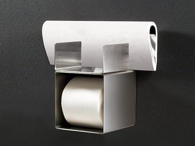 Stainless steel toilet roll holder NEUTRA 40