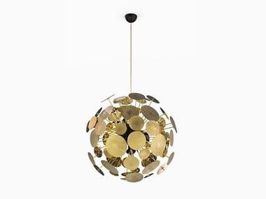 Lampada a sospensione fatta a mano in alluminio NEWTON | Lampada a sospensione