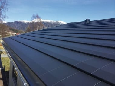 Metal sheet and panel for roof Quadro Icopal