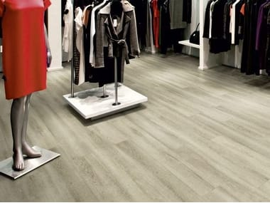 PVC flooring with wood effect iD INSPIRATION CLICK
