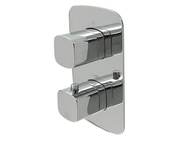 Thermostatic shower tap with plate NK CONCEPT | Thermostatic shower tap