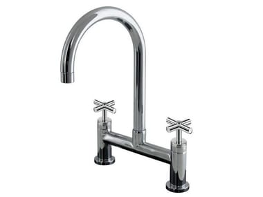 2 hole countertop kitchen tap FUTURE | Kitchen tap
