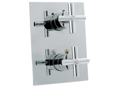 Shower tap with diverter with plate FUTURE | Shower tap